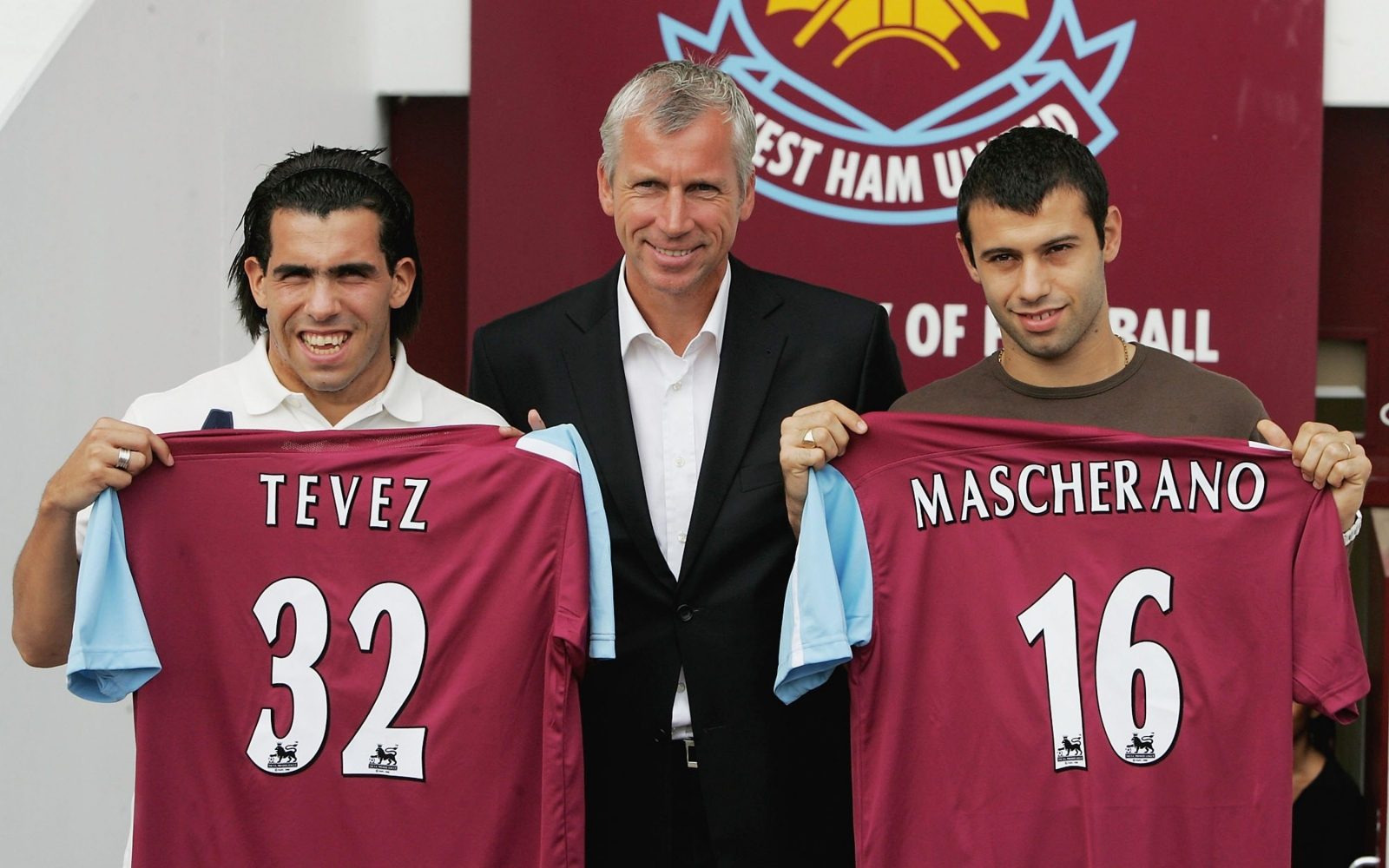 Tevez and Mascherano