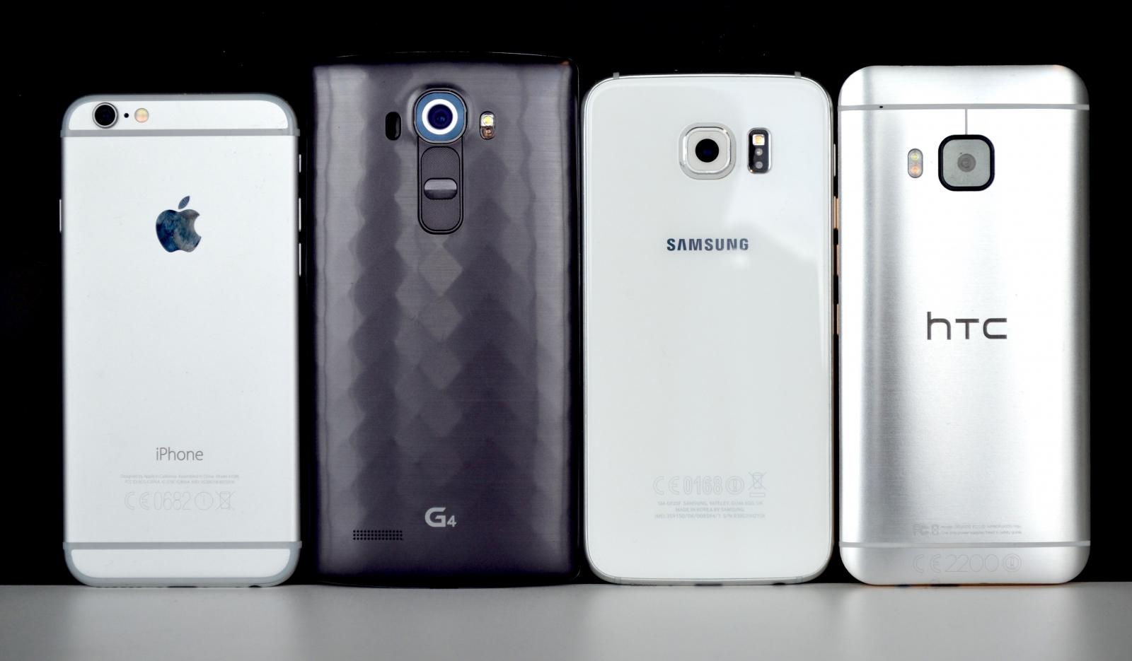 iPhone 6 G4 Galaxy S6 One M9