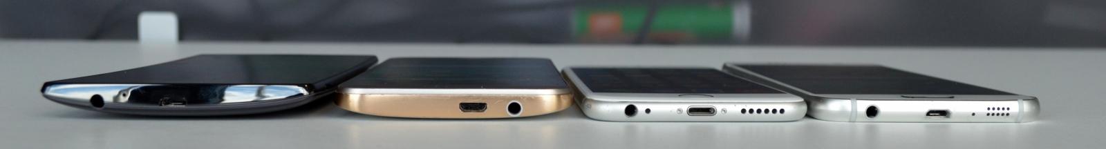 iPhone 6 Galaxy S6 One M9 G4