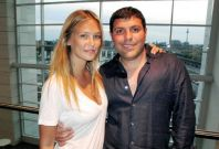 Teddy Sagi and Bar Refaeli