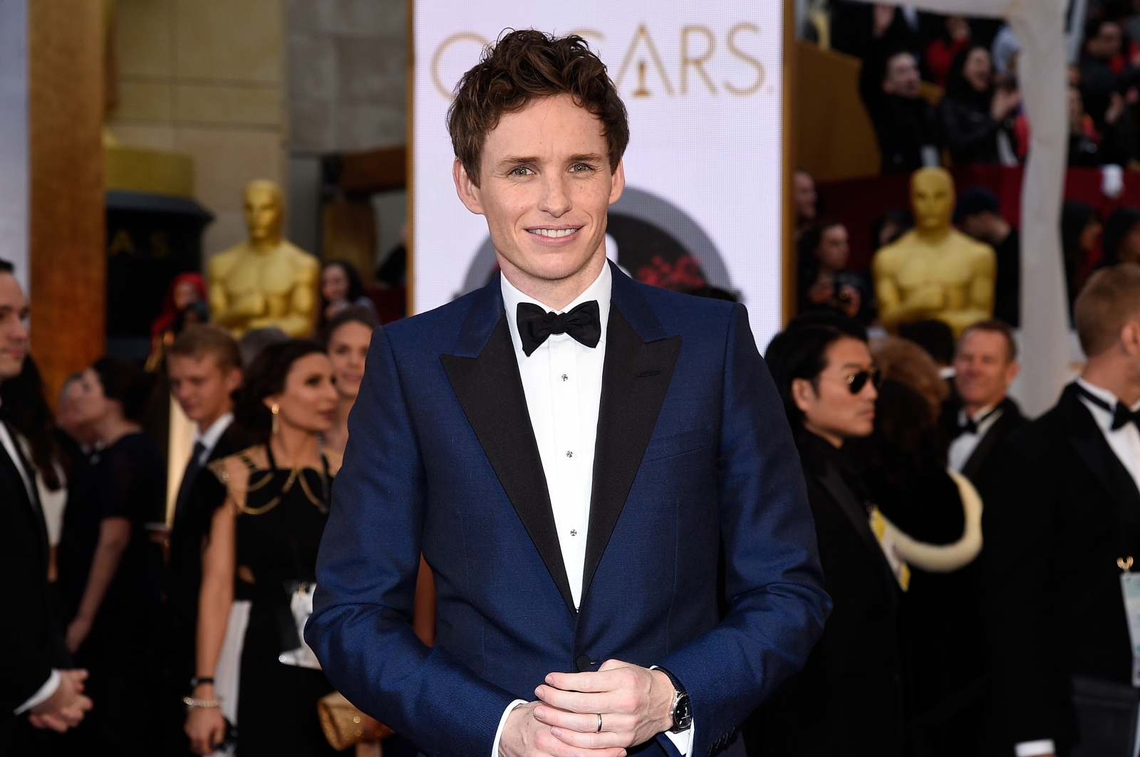 Eddie Redmayne confirmed as Newt Scamander