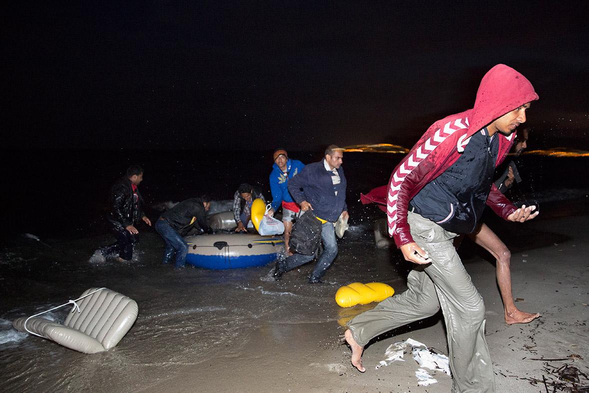 kos greece island refugees migrants