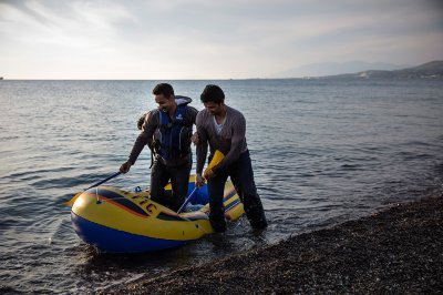kos greece island refugees migrants