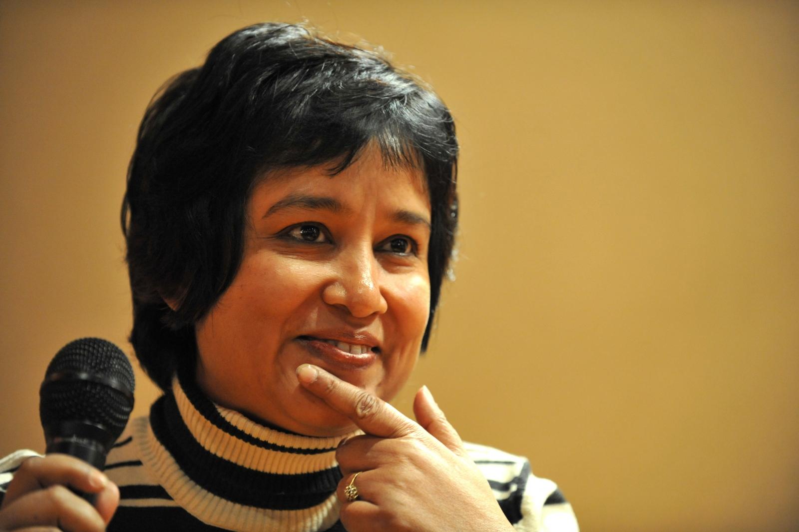Bangladeshi writer Taslima Nasreen