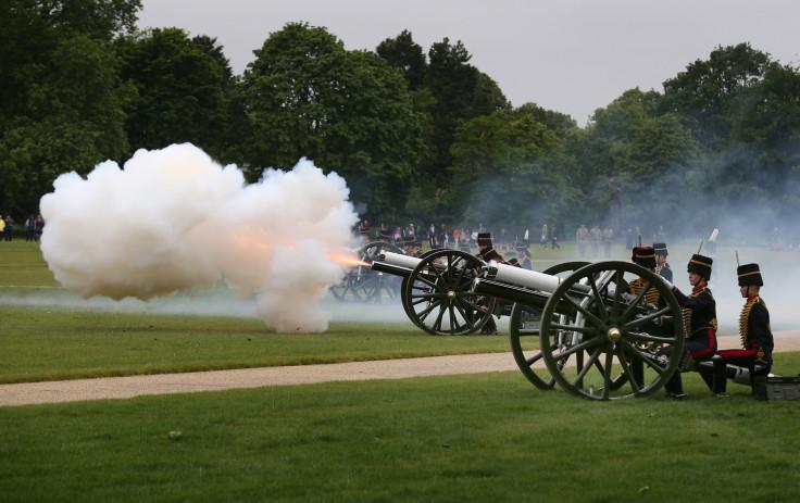 Queen Elizabeth Gun Salute