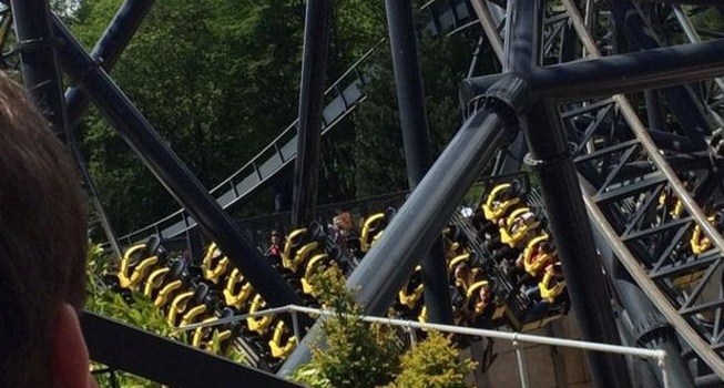Alton Towers ride The Smiler