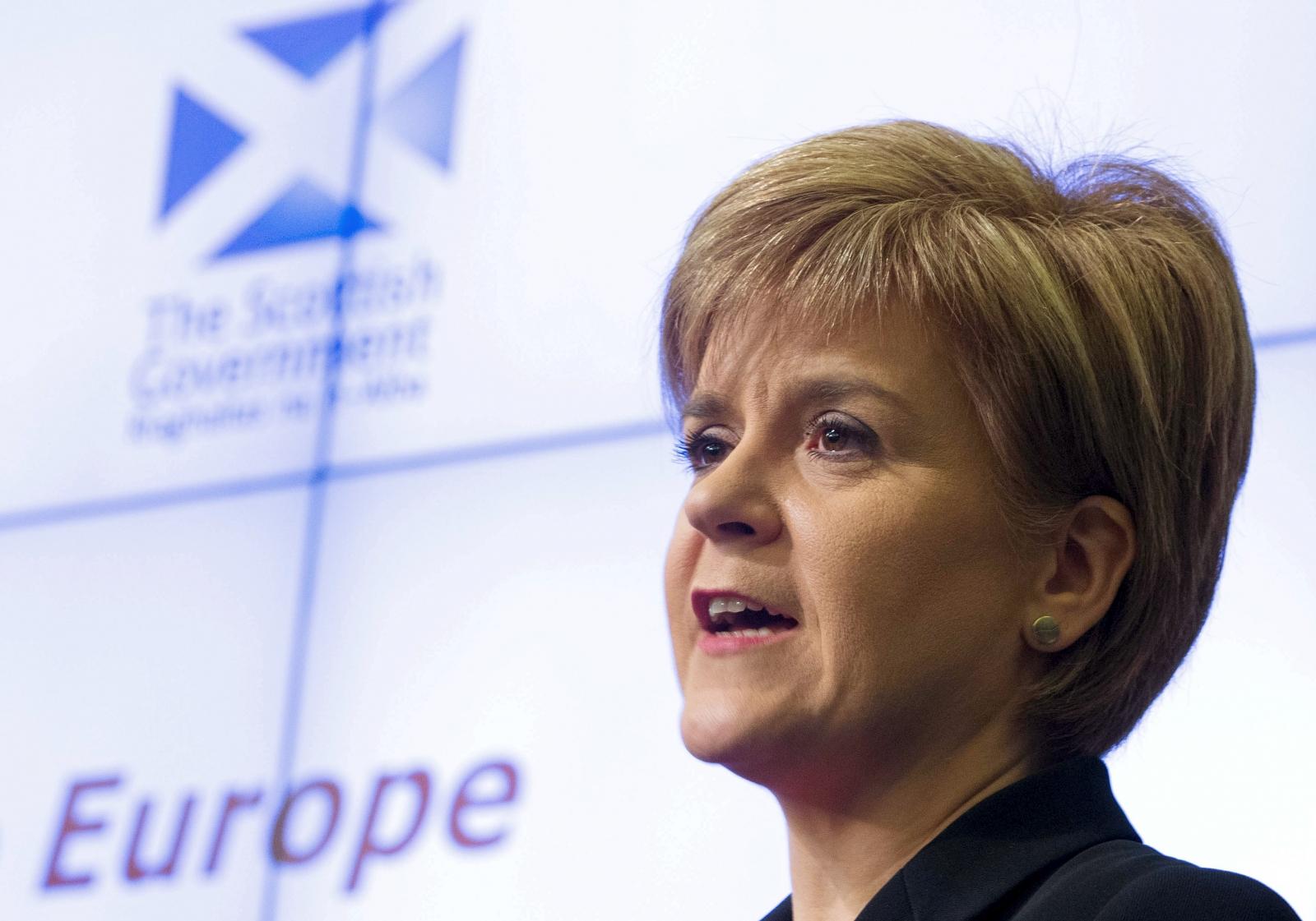 Nicola Sturgeon at the European Policy Centre