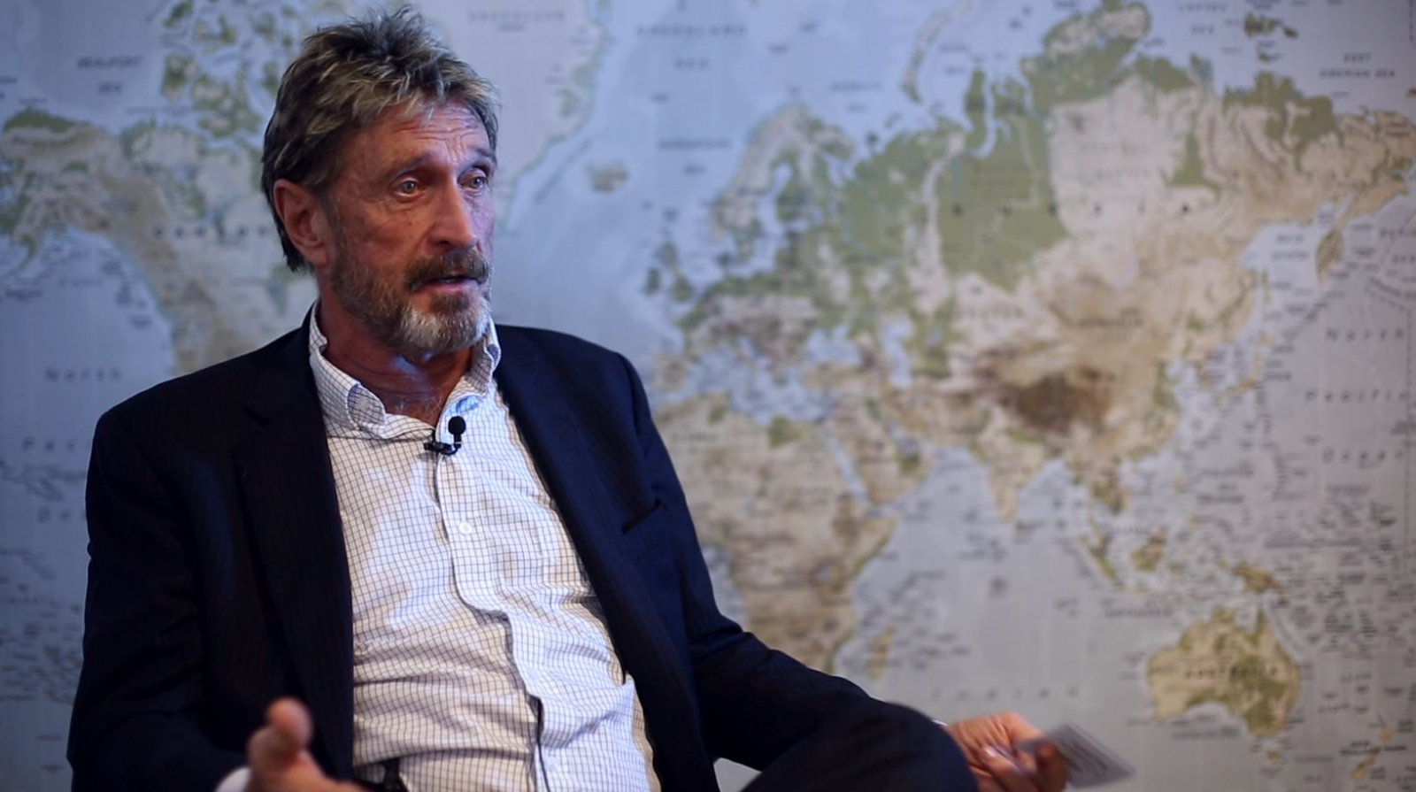 John McAfee Interview