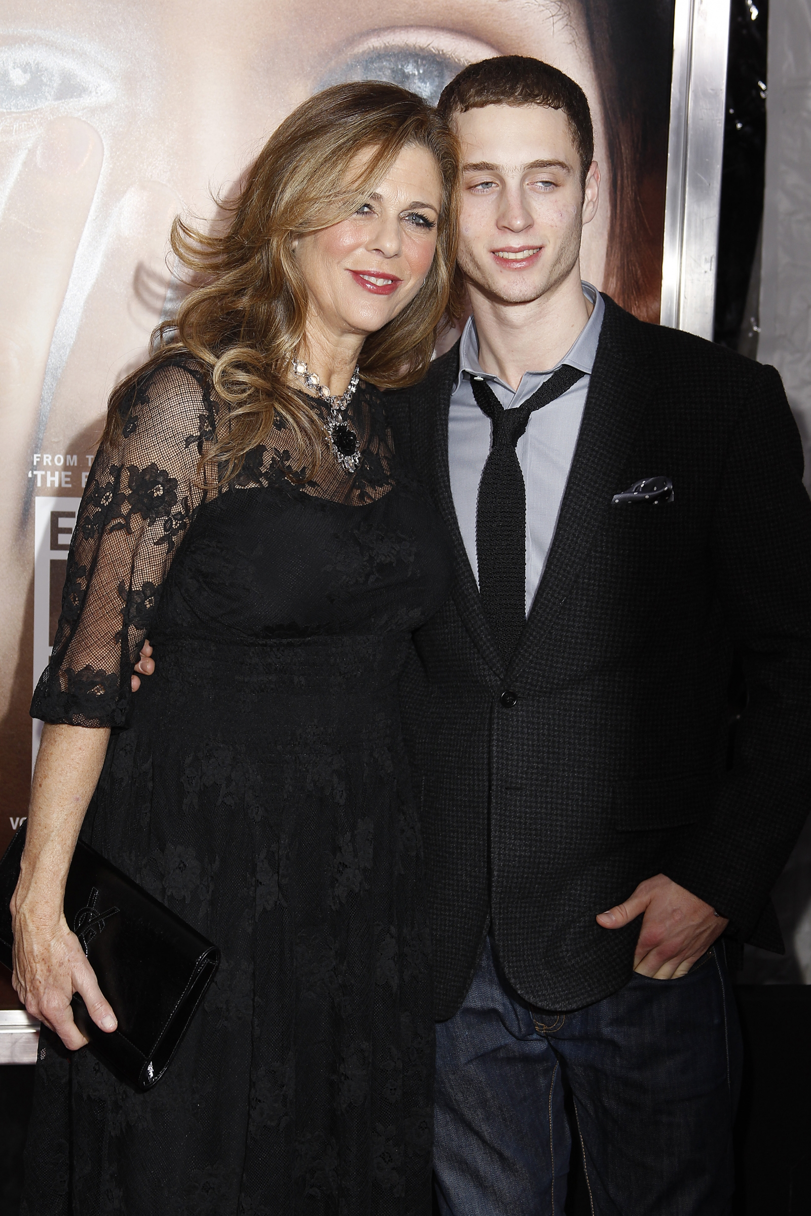 Actress Rita Wilson and Chester Hanks