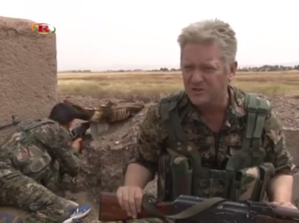 Michael Enright Fighting Isis