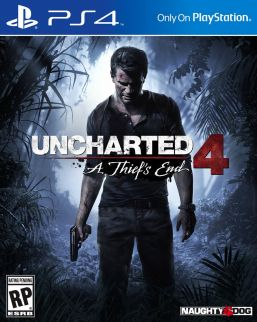 Uncharted 4 Box Art PS4