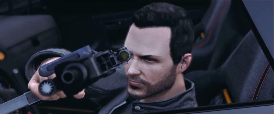 Gunship: The Mountain - First music video made in GTA 5