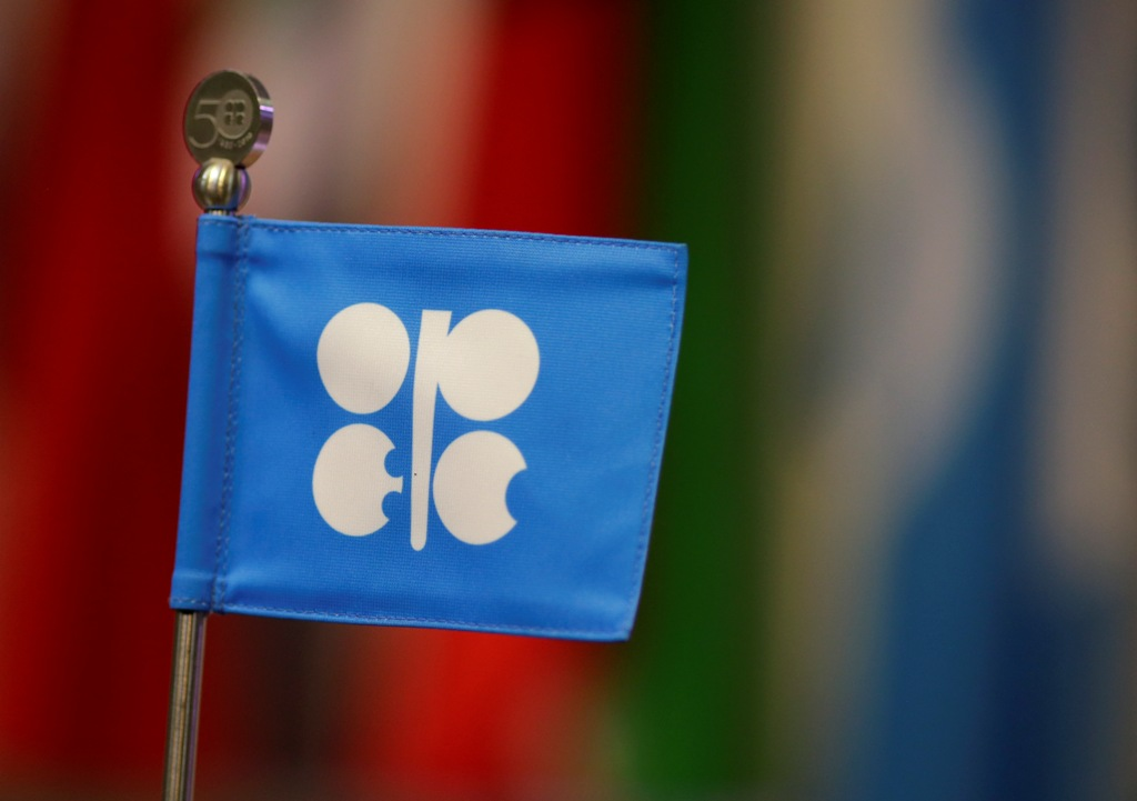 Opec Logo and Flag