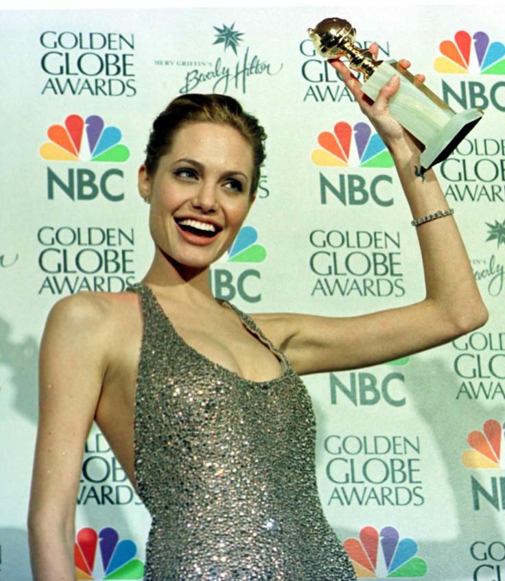 Angelina Jolie wins Golden Globe for Gia