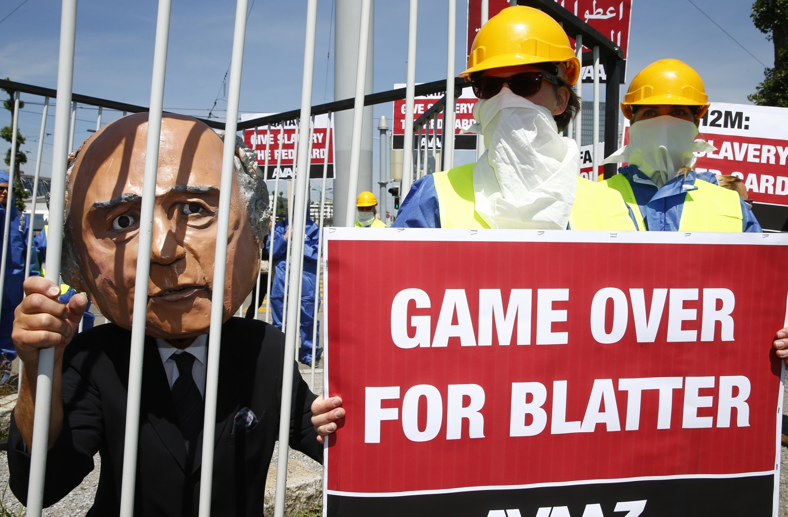 Qatar World Cup 2022 Blatter