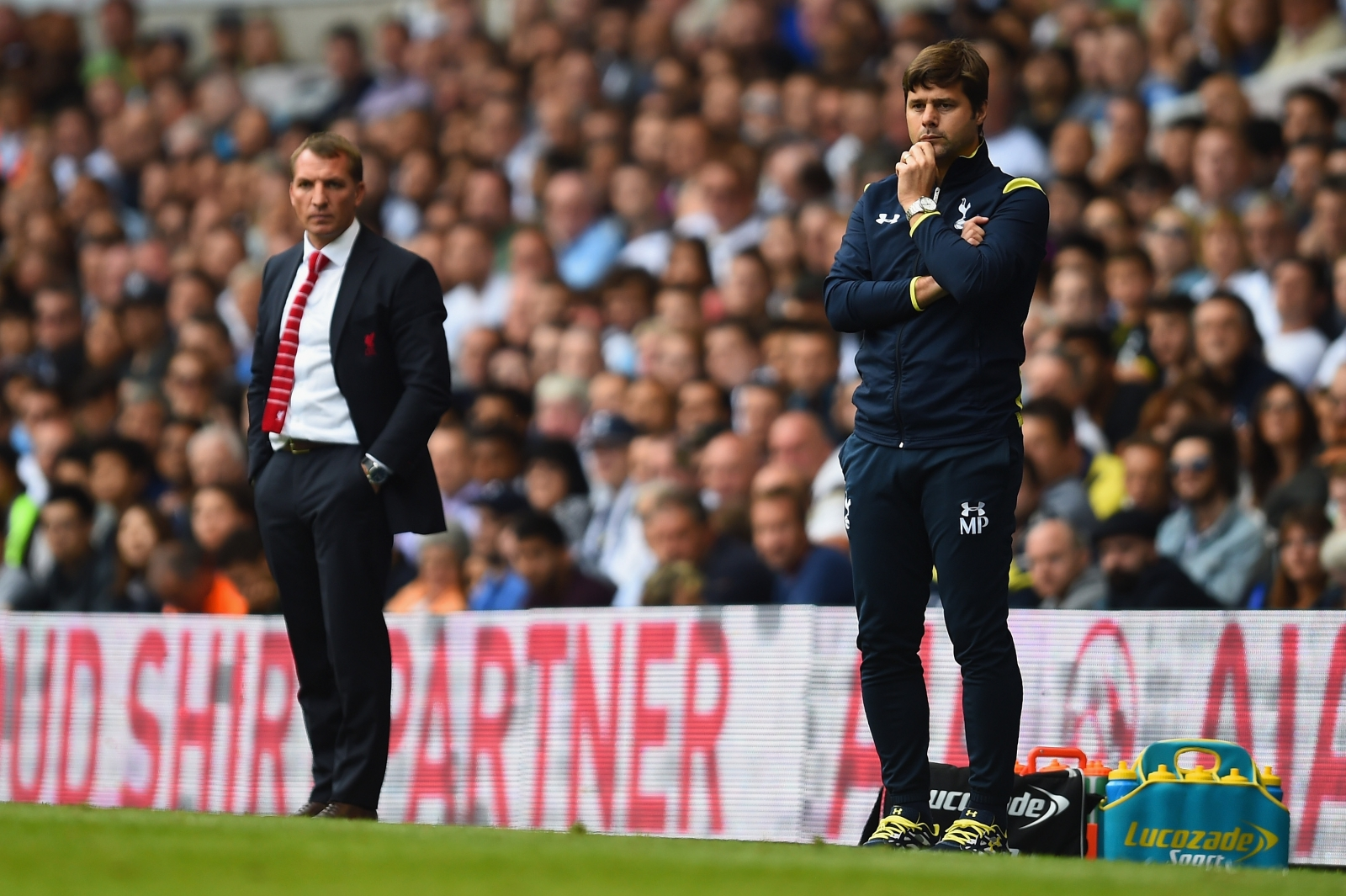 Brendan Rodgers and Mauricio Pochettino