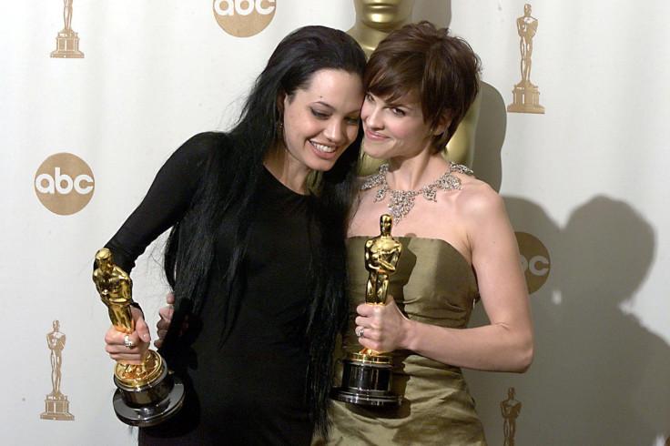 Angelina Jolie and Hilary Swank