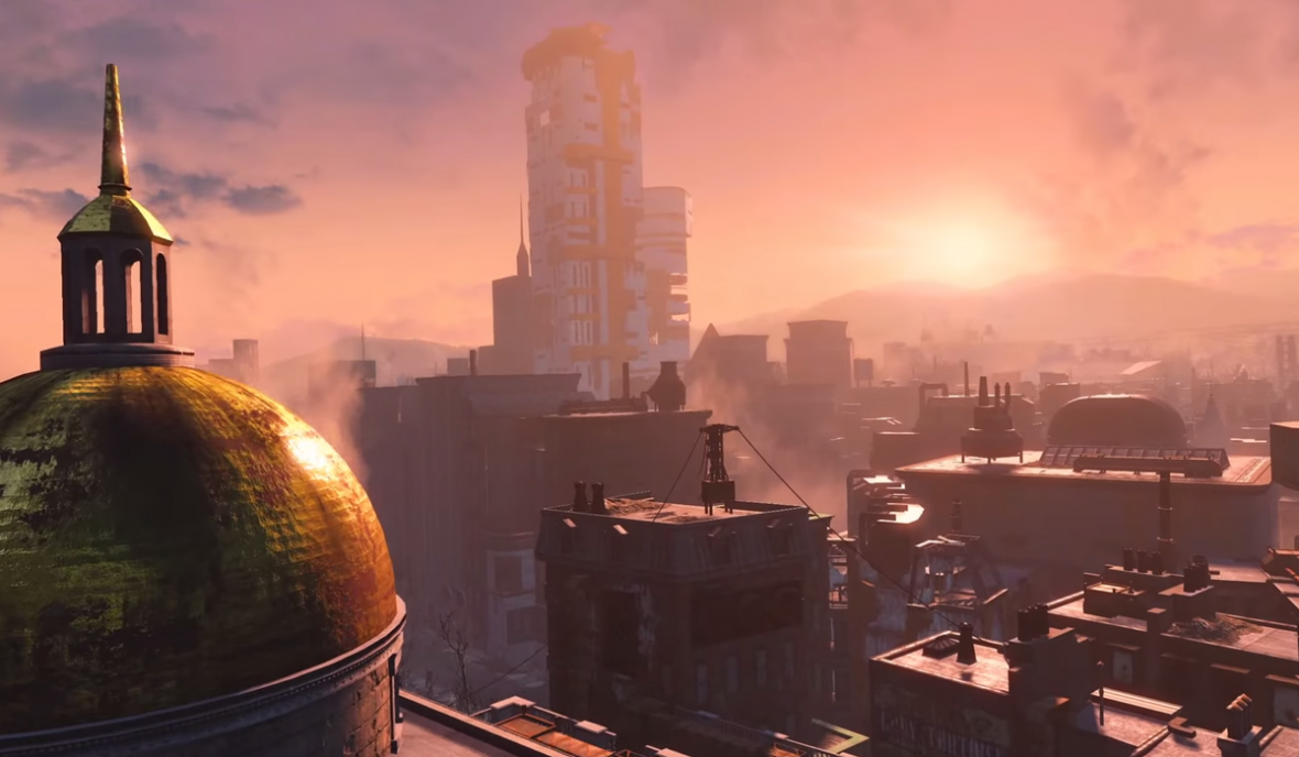 Fallout 4 screenshot Boston