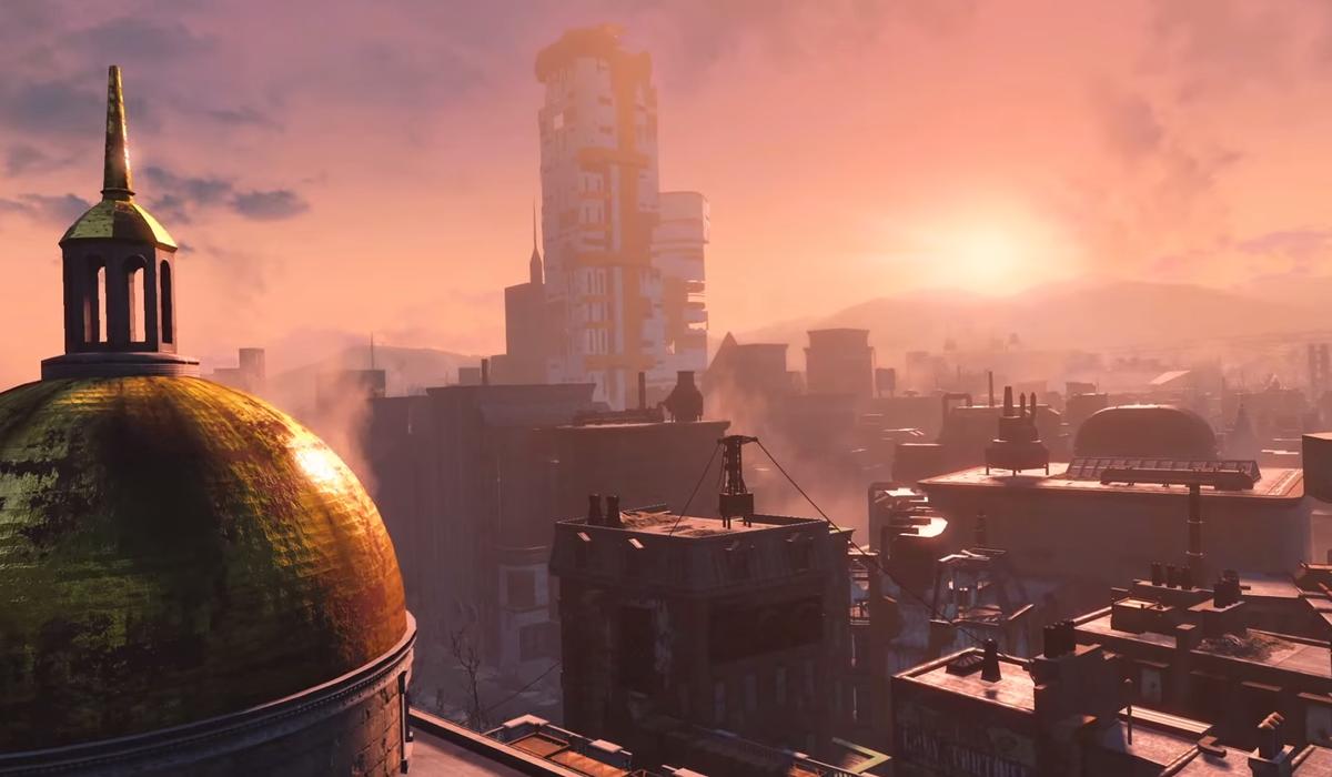 Fallout 4 screenshot Boston