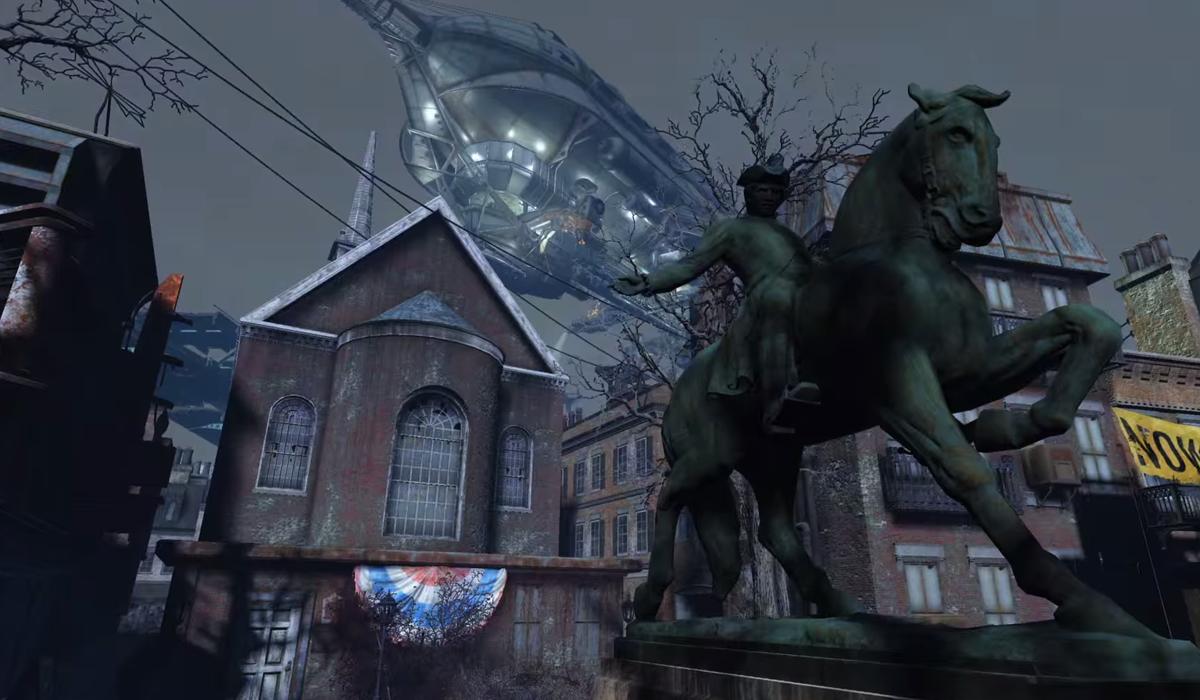 Fallout 4 screenshot Paul Revere