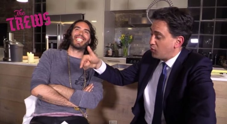 Russell Brand interviewing Ed Miliband