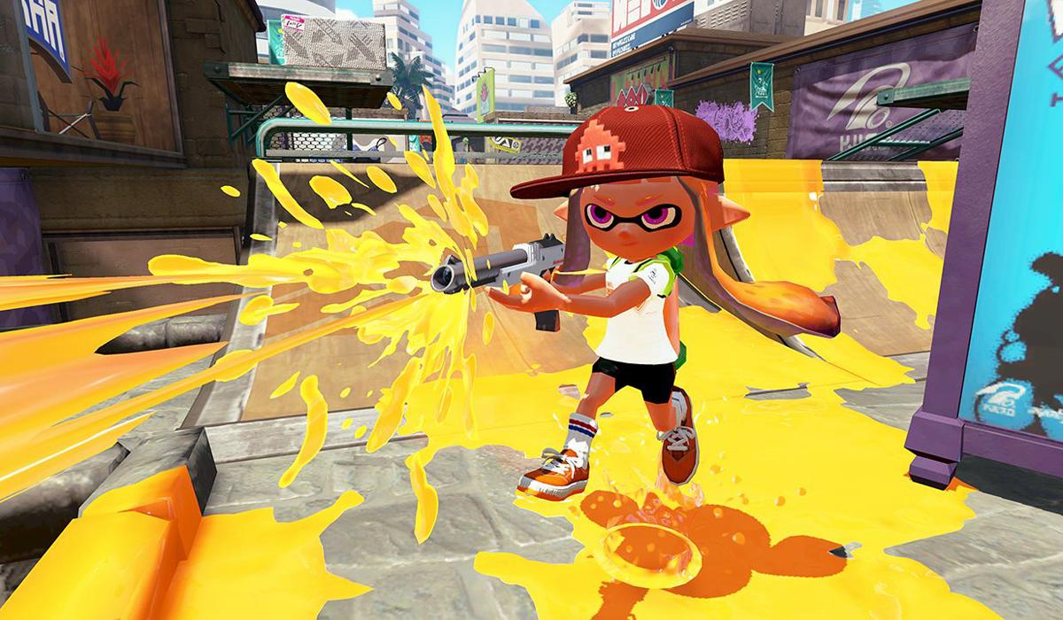 Splatoon Nintendo Wii U