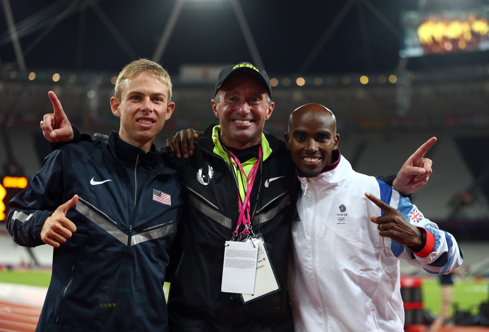 Alberto Salazar and Galen Rupp