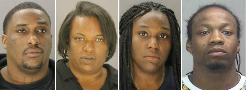 4 arrested in 'miscarriage beating'