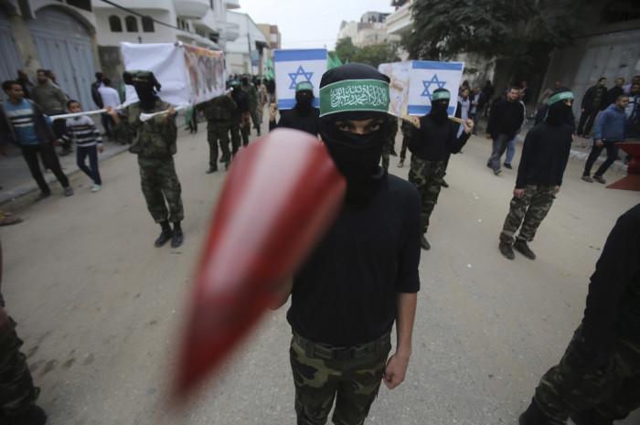 hamas rocket Gaza Israel