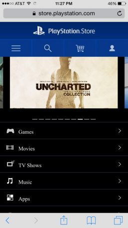 Uncharted Collection Leak PS Store