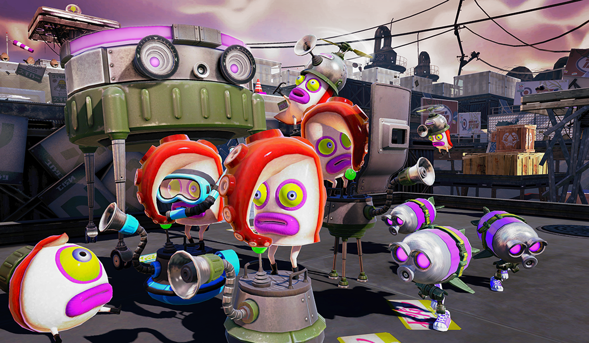 Splatoon single player enemies