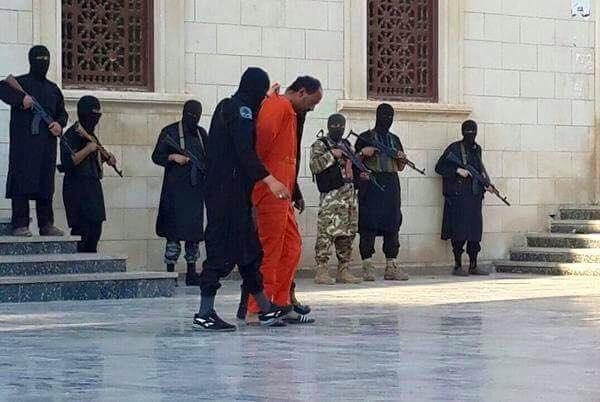 Derna Isis execution
