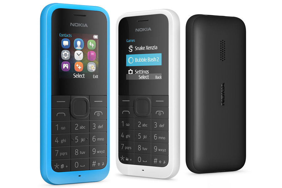 Nokia 105 $20 feature phone