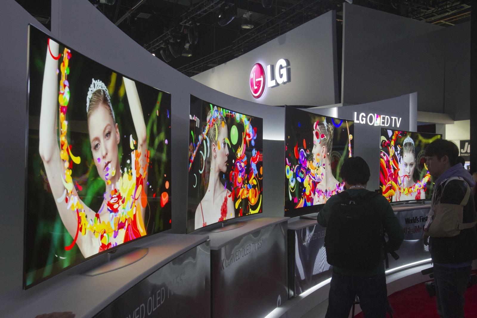 LG UHD televisions