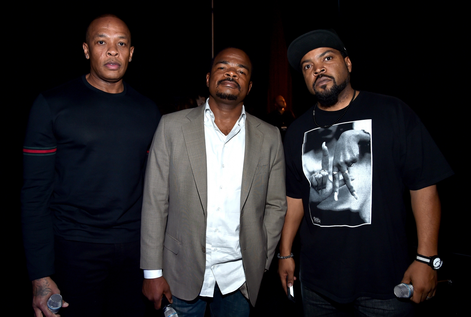 Ice Cube and Dr Dre