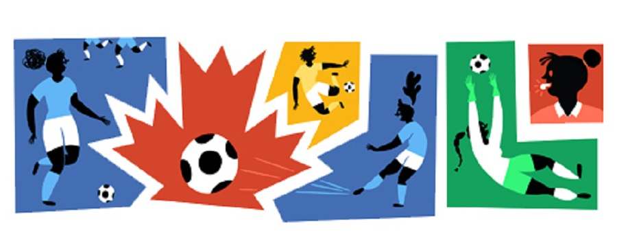 Google Doodle for Women's World Cup
