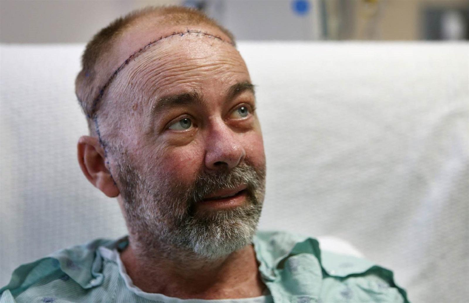 Transplant patient Jim Boysen