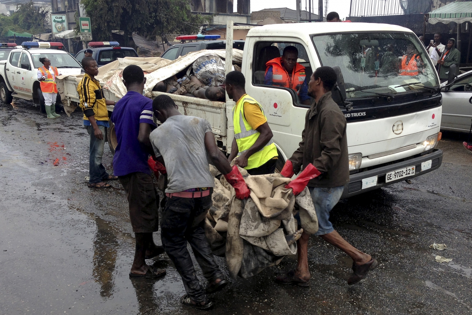 Ghana petrol station explosion