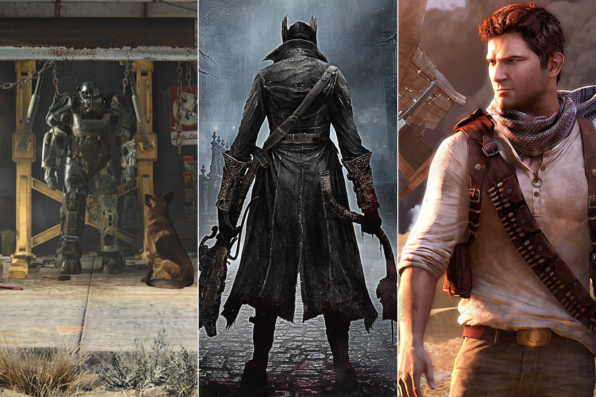 UK Game Deals Fallout 4 Uncharted Bloodborne