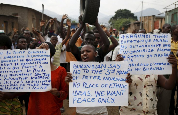 Burundi Protests