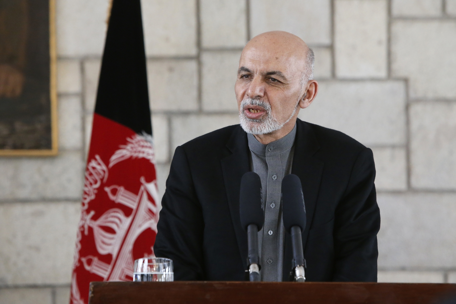Ashraf Ghani Afghan president