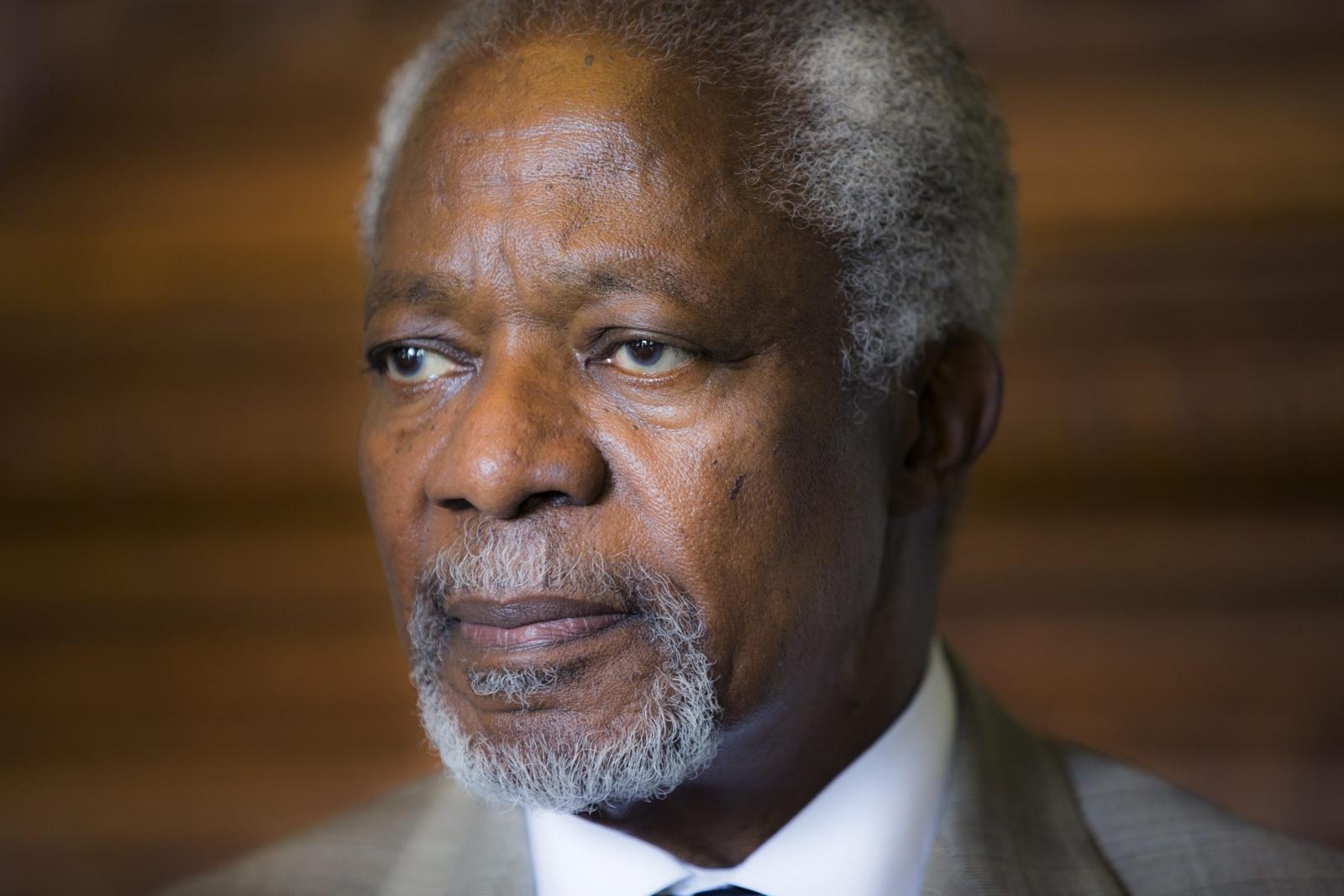 Kofi Annan UN