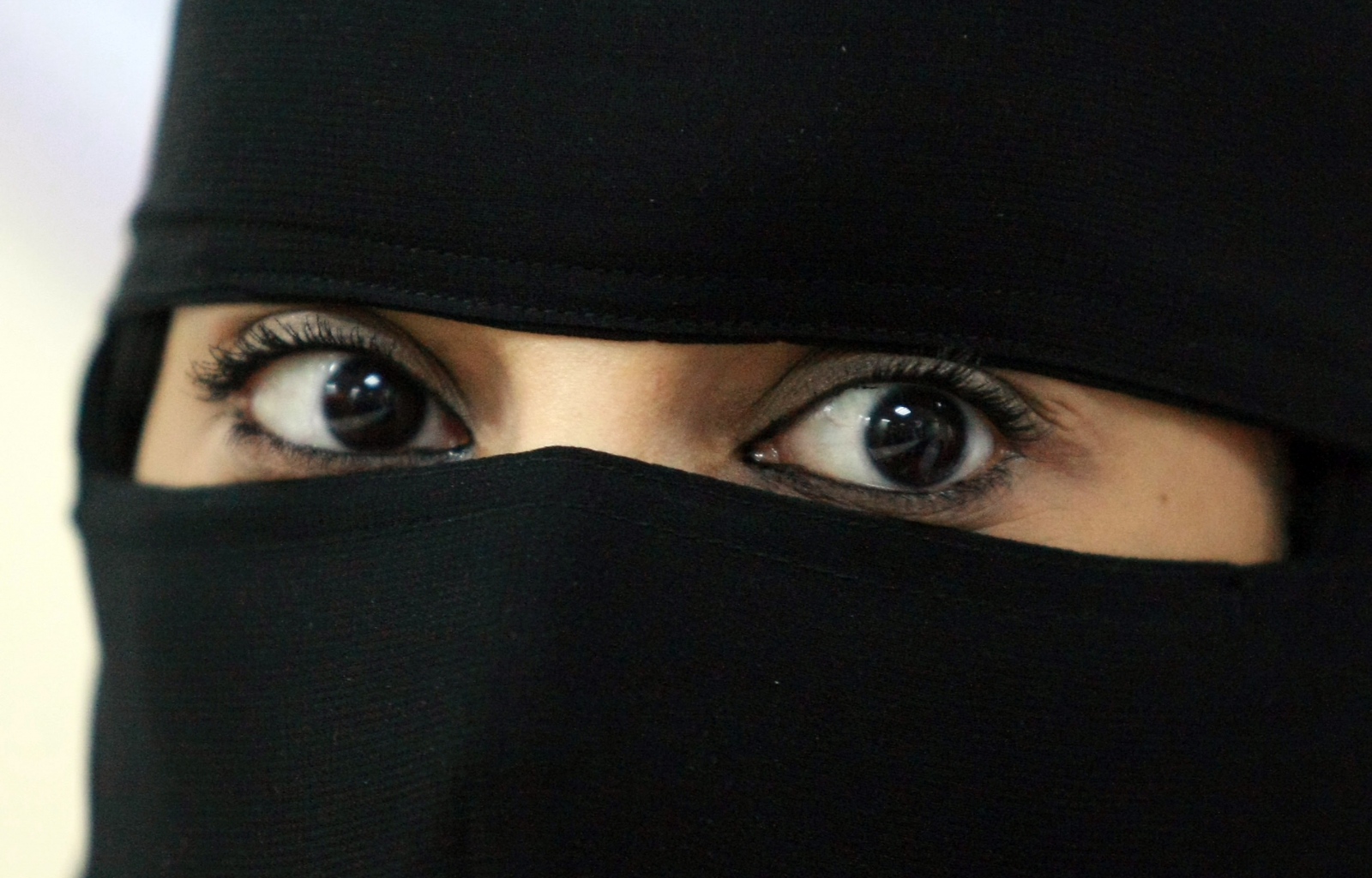 Saudi veil