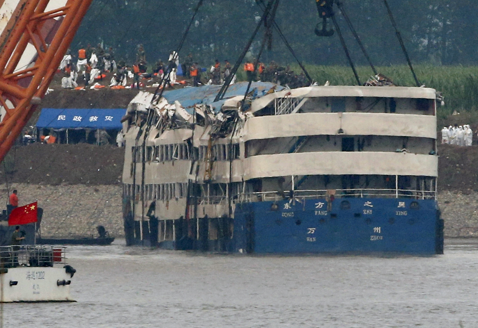 China Yangtze boat capsize tragedy