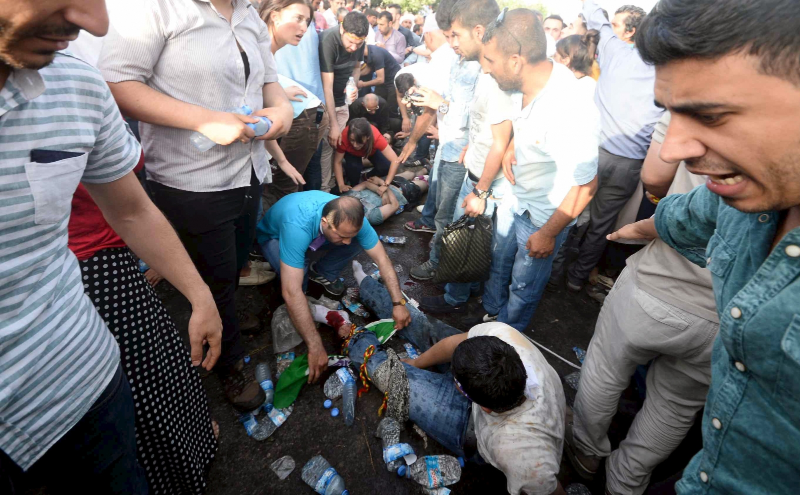 Turkey Explosion Diyarbakir HDP