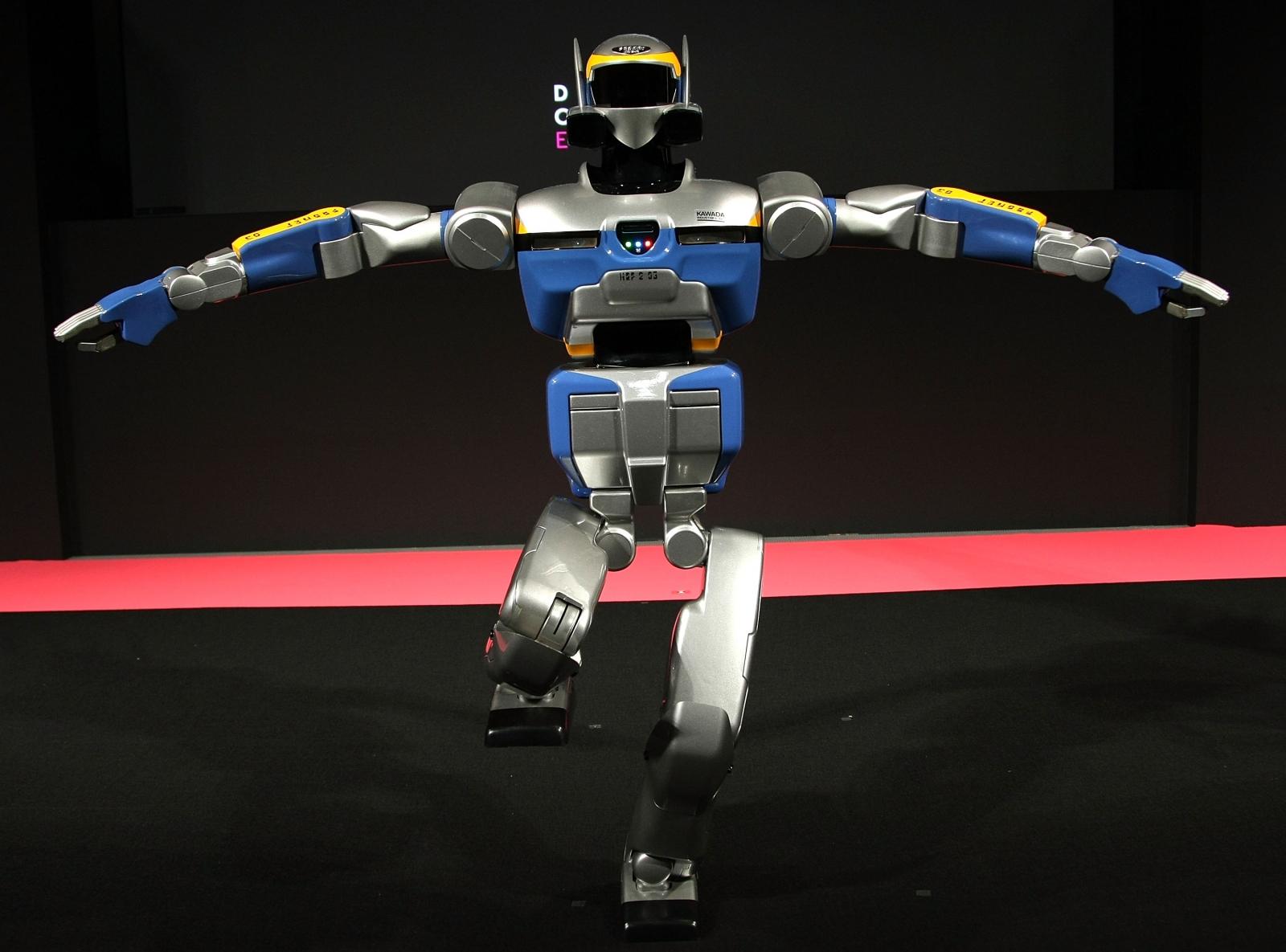 HRP-2 Promet humanoid robot