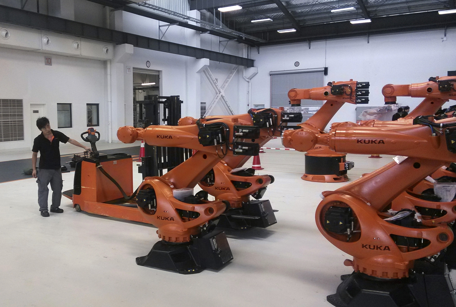 Kuka Robotics in Shanghai