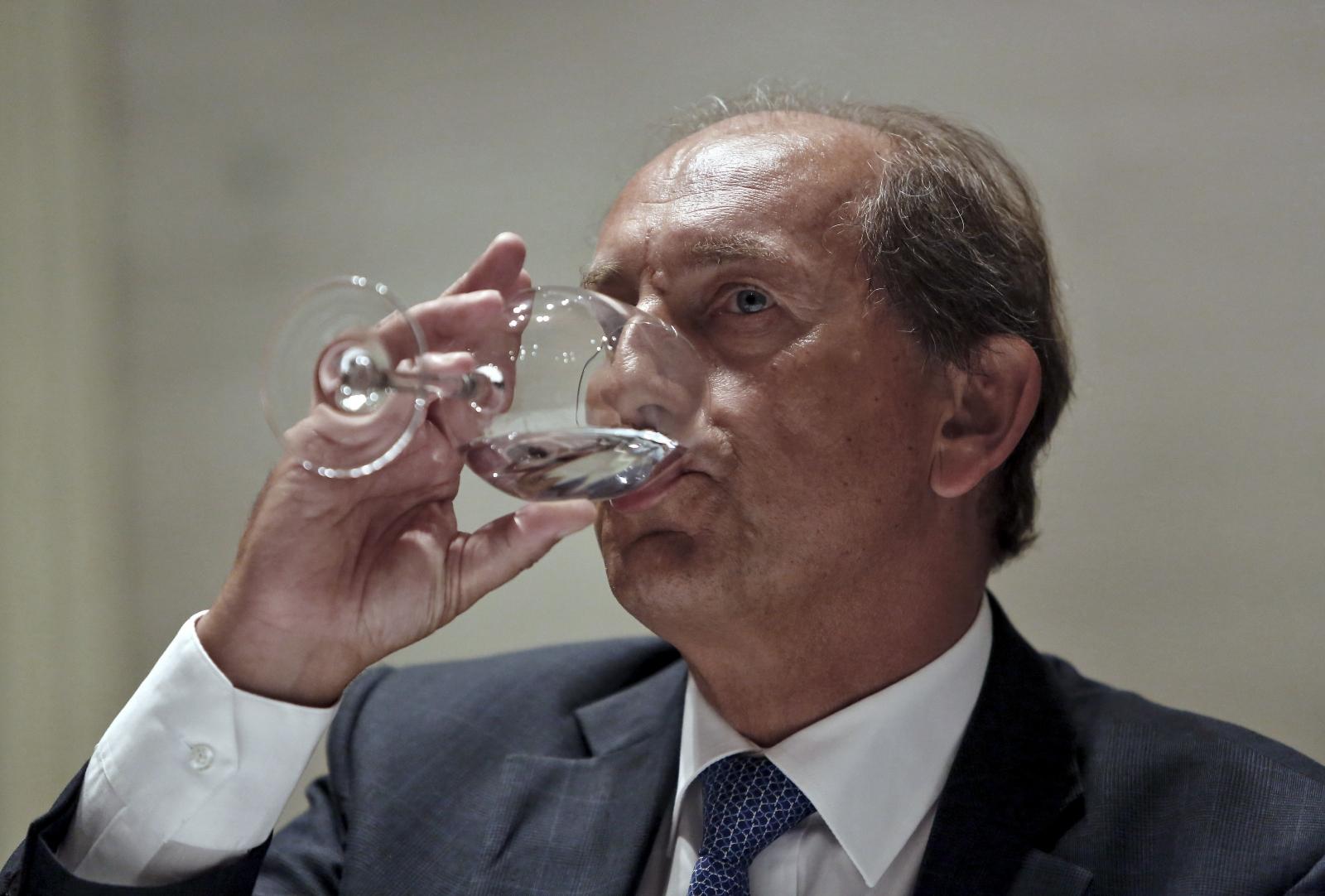Nestle's global CEO Paul Bulcke