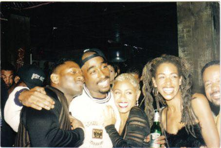 Jada Pinkett Smith and  Tupac
