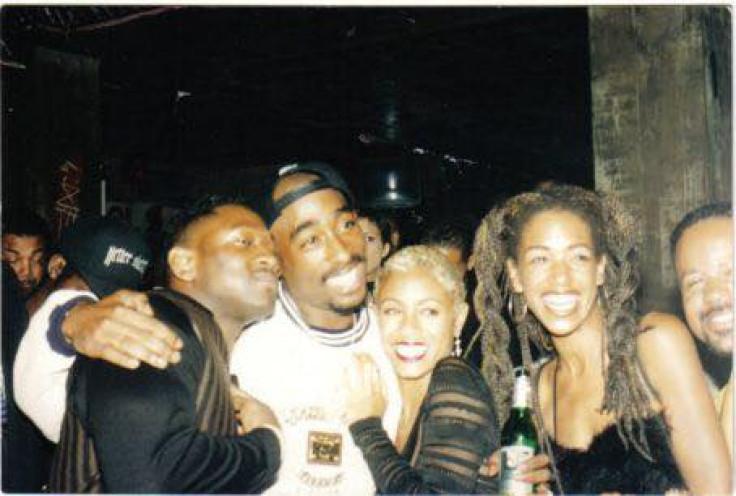 Jada Pinkett Smith and  Tupac
